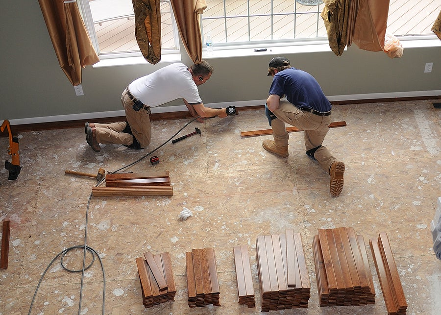 How do you renovate the home economically