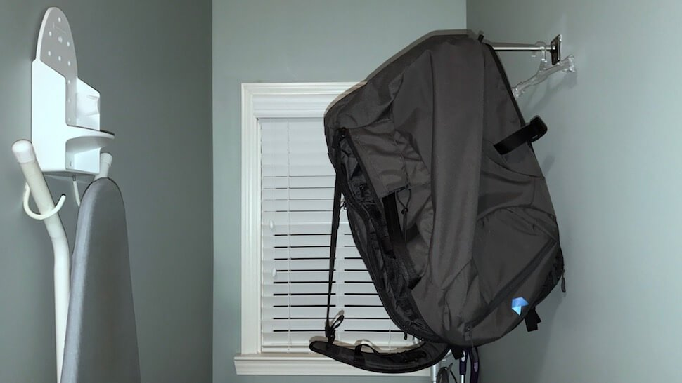 How to clean your baby's backpack
